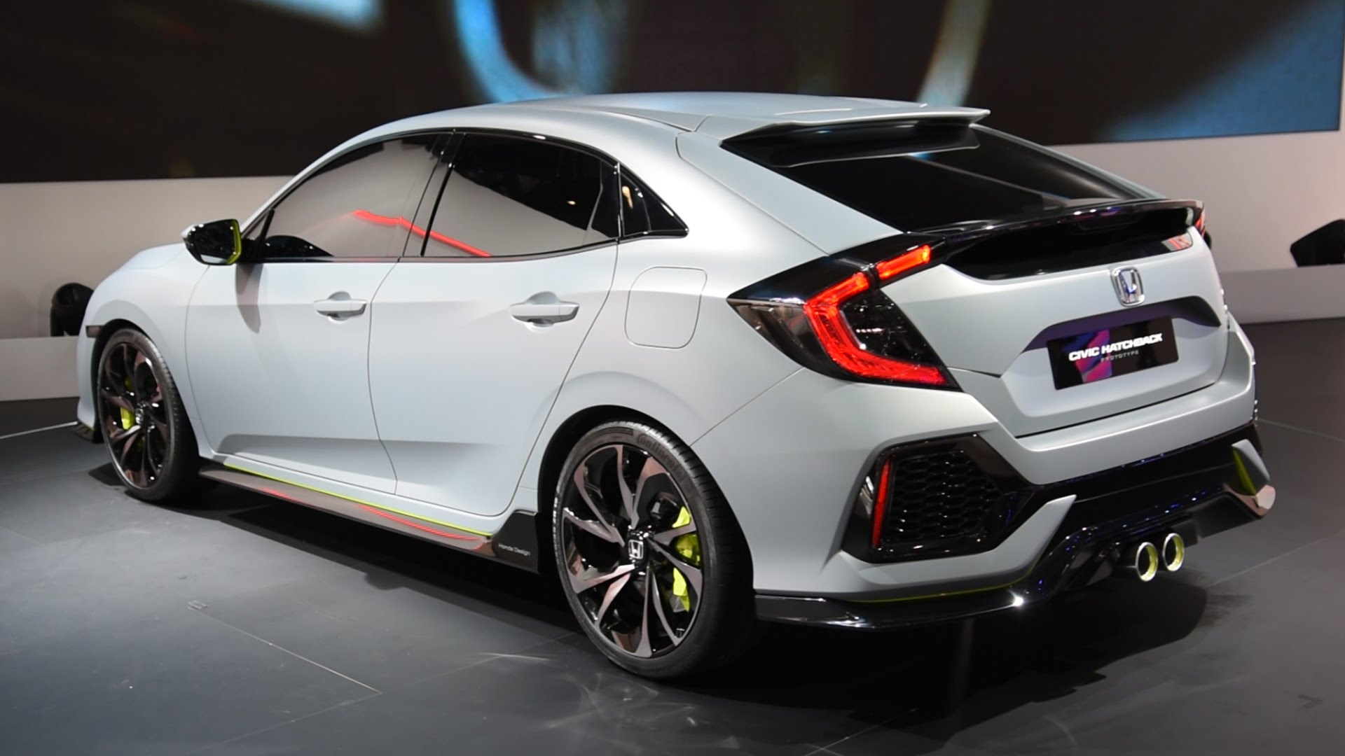 See the 2017 honda civic hatchback debut in this video for Honda civic wagon 2017