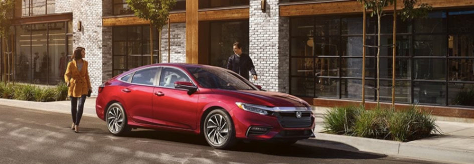 Red-2019-Honda-Insight-parked-curbside